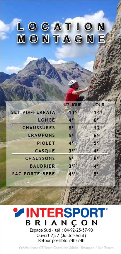 Flyer Loc Briançon Montagne 2019